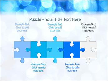 Bleu service Modèles des présentations  PowerPoint - Diapositives 21