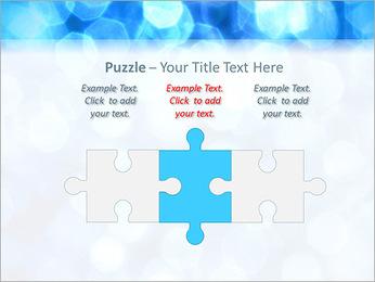 Bleu service Modèles des présentations  PowerPoint - Diapositives 22