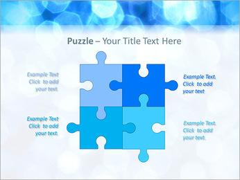 Bleu service Modèles des présentations  PowerPoint - Diapositives 23