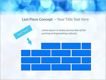 Bleu service Modèles des présentations  PowerPoint - Diapositives 26
