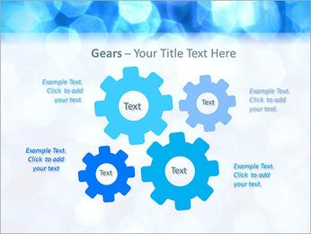Bleu service Modèles des présentations  PowerPoint - Diapositives 27