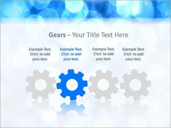 Bleu service Modèles des présentations  PowerPoint - Diapositives 28