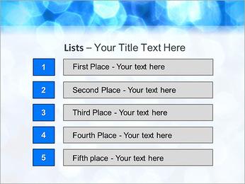Bleu service Modèles des présentations  PowerPoint - Diapositives 3