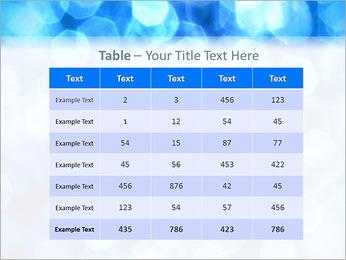 Bleu service Modèles des présentations  PowerPoint - Diapositives 35