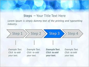 Bleu service Modèles des présentations  PowerPoint - Diapositives 4