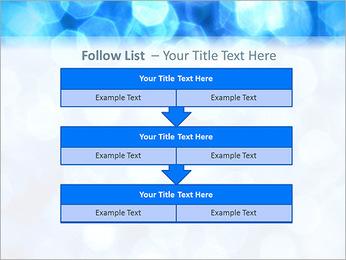 Bleu service Modèles des présentations  PowerPoint - Diapositives 40