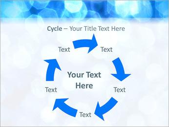 Bleu service Modèles des présentations  PowerPoint - Diapositives 42