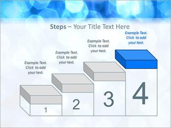 Bleu service Modèles des présentations  PowerPoint - Diapositives 44