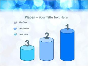 Bleu service Modèles des présentations  PowerPoint - Diapositives 45