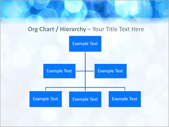 Bleu service Modèles des présentations  PowerPoint - Diapositives 46