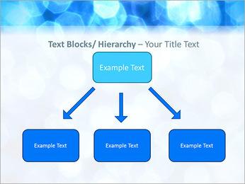 Bleu service Modèles des présentations  PowerPoint - Diapositives 49