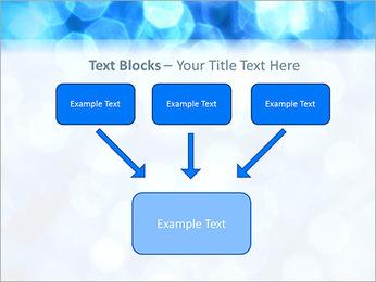 Bleu service Modèles des présentations  PowerPoint - Diapositives 50