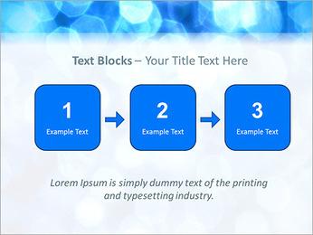 Bleu service Modèles des présentations  PowerPoint - Diapositives 51