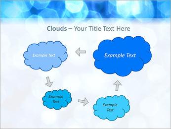 Bleu service Modèles des présentations  PowerPoint - Diapositives 52
