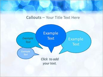 Bleu service Modèles des présentations  PowerPoint - Diapositives 53