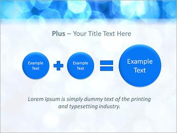 Bleu service Modèles des présentations  PowerPoint - Diapositives 55
