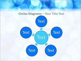 Bleu service Modèles des présentations  PowerPoint - Diapositives 58