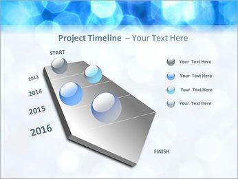 Bleu service Modèles des présentations  PowerPoint - Diapositives 6