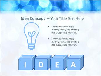 Bleu service Modèles des présentations  PowerPoint - Diapositives 60