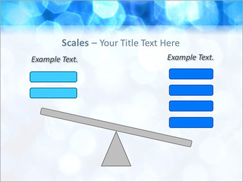 Bleu service Modèles des présentations  PowerPoint - Diapositives 69