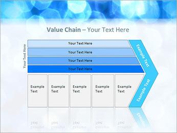 Bleu service Modèles des présentations  PowerPoint - Diapositives 7