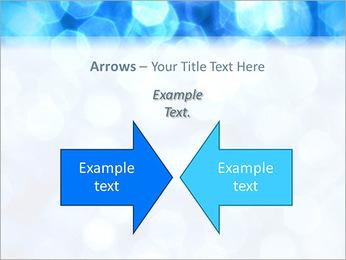 Bleu service Modèles des présentations  PowerPoint - Diapositives 70