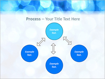 Bleu service Modèles des présentations  PowerPoint - Diapositives 71