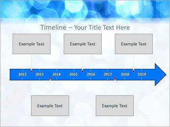 Bleu service Modèles des présentations  PowerPoint - Diapositives 8
