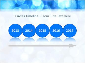 Bleu service Modèles des présentations  PowerPoint - Diapositives 9