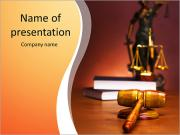Court Case PowerPoint Templates
