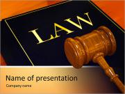 Break Law Sjablonen PowerPoint presentatie