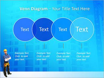 Construção Modelos de apresentações PowerPoint - Slide 12