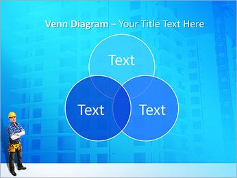 Construção Modelos de apresentações PowerPoint - Slide 13