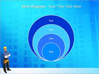 Construção Modelos de apresentações PowerPoint - Slide 14
