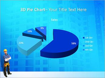 Construção Modelos de apresentações PowerPoint - Slide 15
