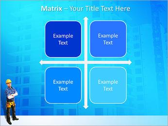 Construção Modelos de apresentações PowerPoint - Slide 17