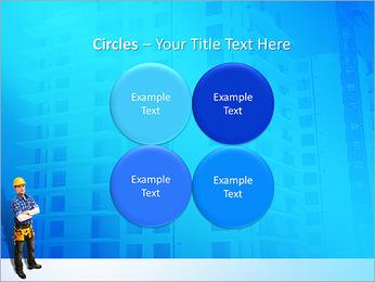Construção Modelos de apresentações PowerPoint - Slide 18