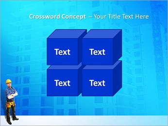 Construção Modelos de apresentações PowerPoint - Slide 19