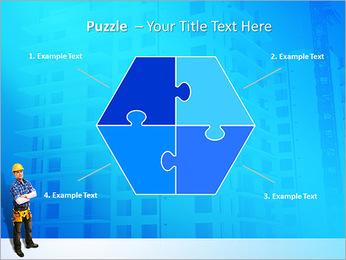 Construção Modelos de apresentações PowerPoint - Slide 20