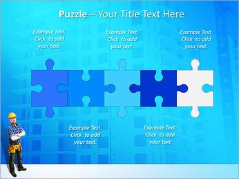 Construção Modelos de apresentações PowerPoint - Slide 21