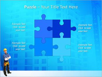 Construção Modelos de apresentações PowerPoint - Slide 23