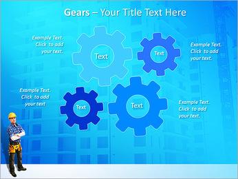 Construção Modelos de apresentações PowerPoint - Slide 27