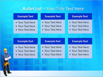 Construção Modelos de apresentações PowerPoint - Slide 36