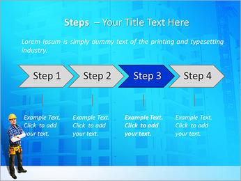 Construção Modelos de apresentações PowerPoint - Slide 4