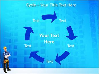 Construção Modelos de apresentações PowerPoint - Slide 42