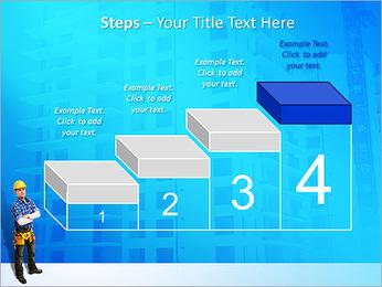 Construção Modelos de apresentações PowerPoint - Slide 44