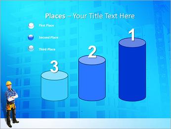 Construção Modelos de apresentações PowerPoint - Slide 45
