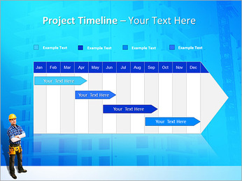Construção Modelos de apresentações PowerPoint - Slide 5