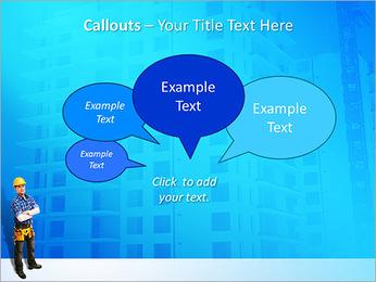Construção Modelos de apresentações PowerPoint - Slide 53