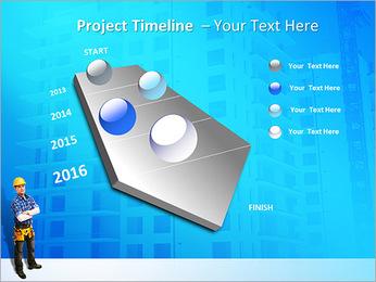 Construção Modelos de apresentações PowerPoint - Slide 6